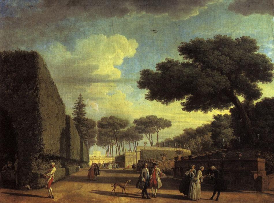 Живопись Франции xvii xviii веков  виллы Памфили